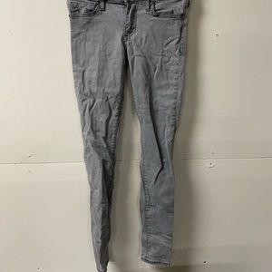 True Religion Womens Halle  Skinny Jeans Gray S 23